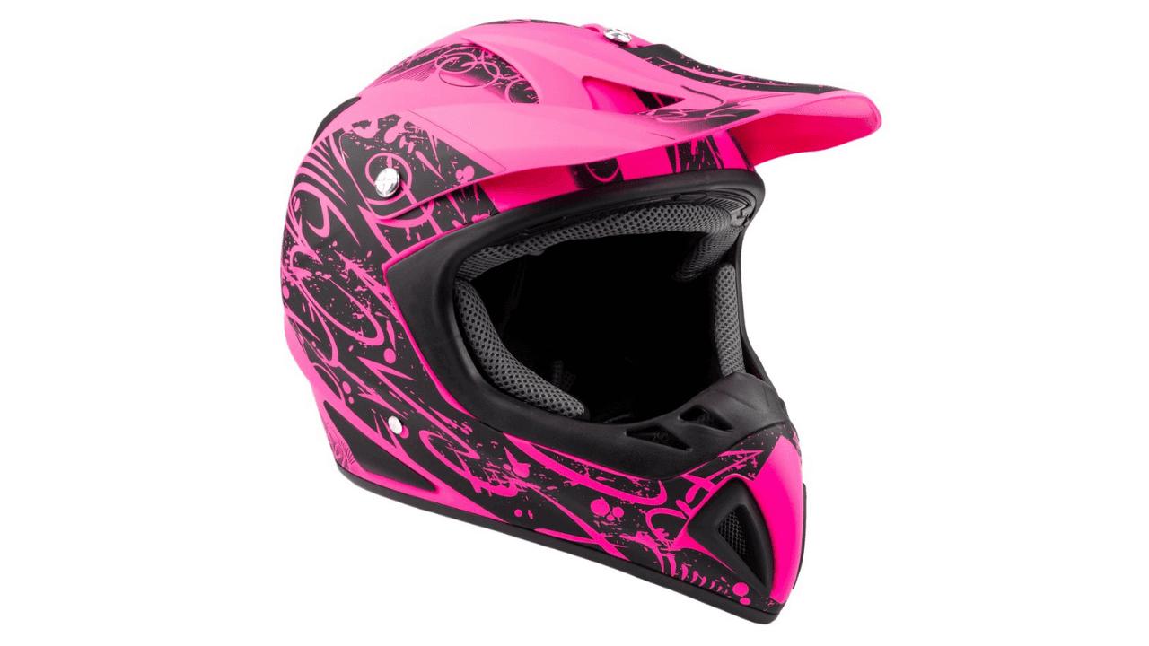 Typhoon Adult Women's Dirt Bike Helmet