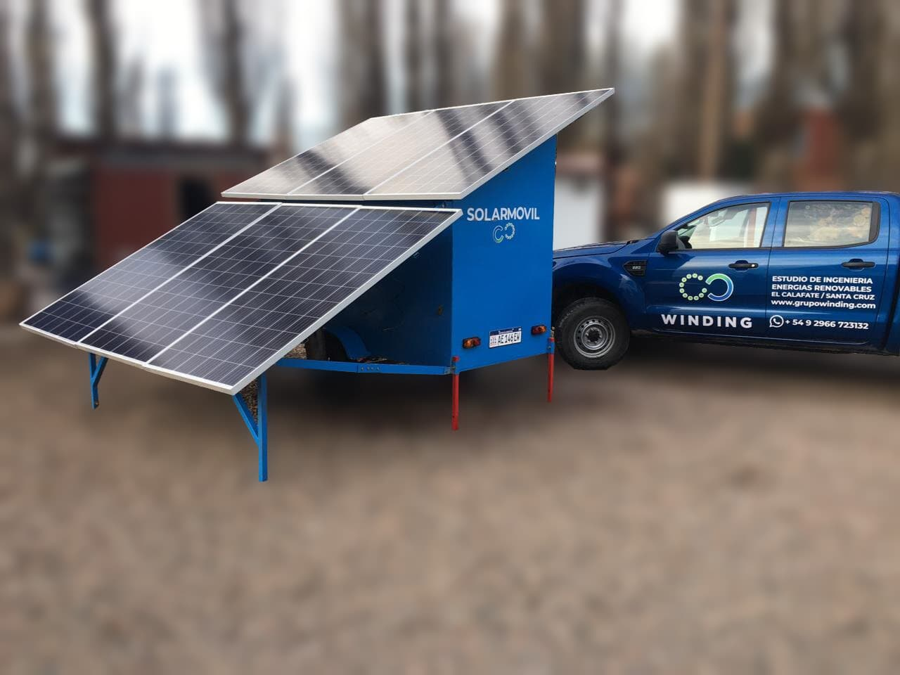Energía solar movil