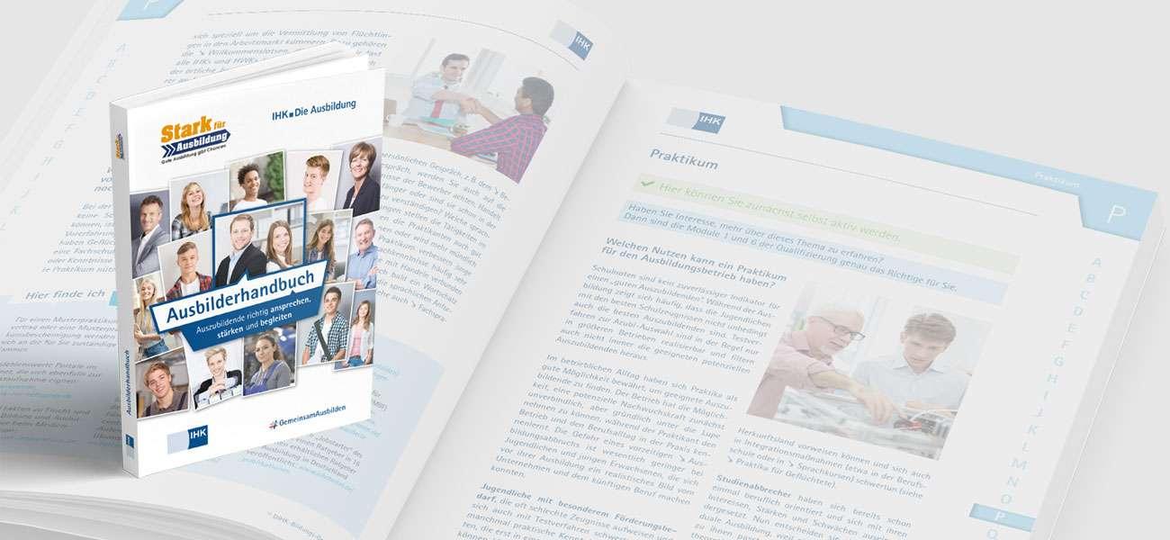 Kommunikationsdesign_DIHK_Ausbilderhandbuch_Design