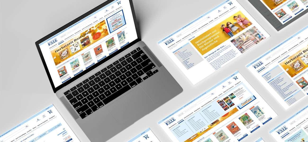 Interfacedesign_Este_Onlineshop_desktop_screens