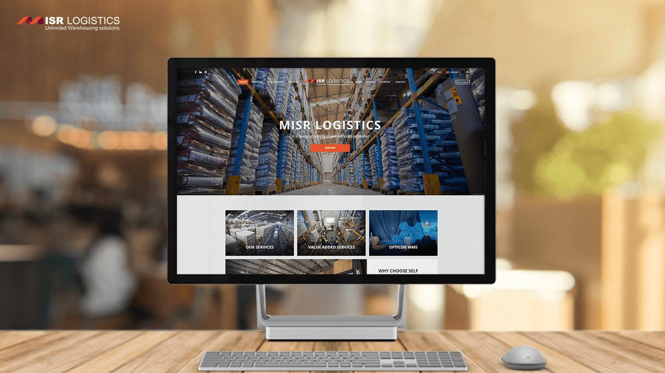 Alex Web Design and development company clients in Egypt Misr Logistec Company