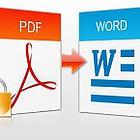 cara, convert, pdf, word, online