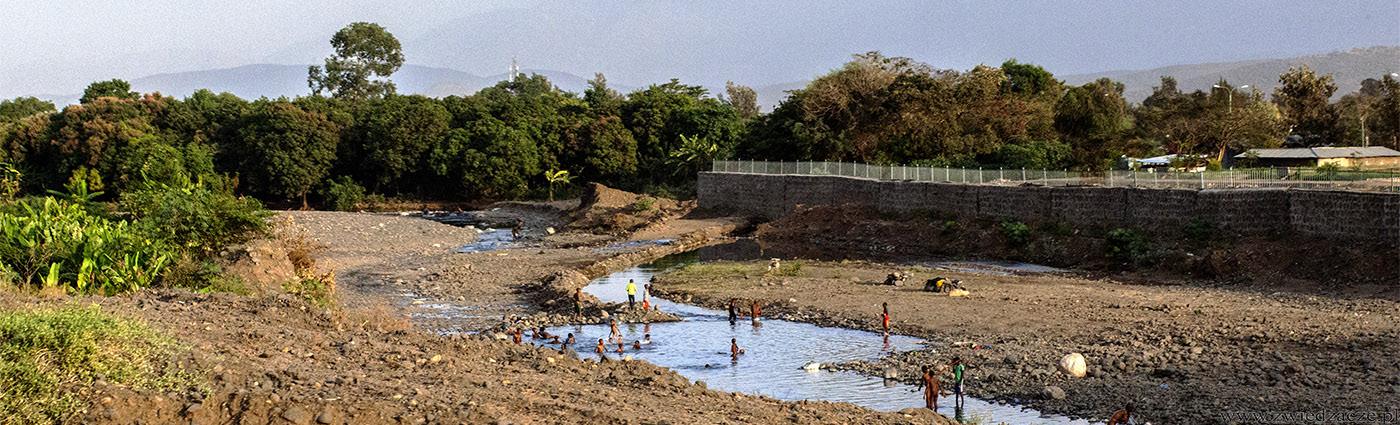 etiopia, dolina omo, rzeka