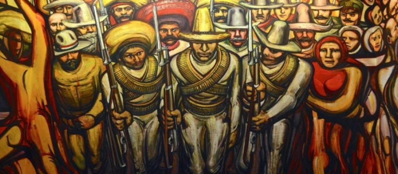 Dipinto rivoluzione messicana