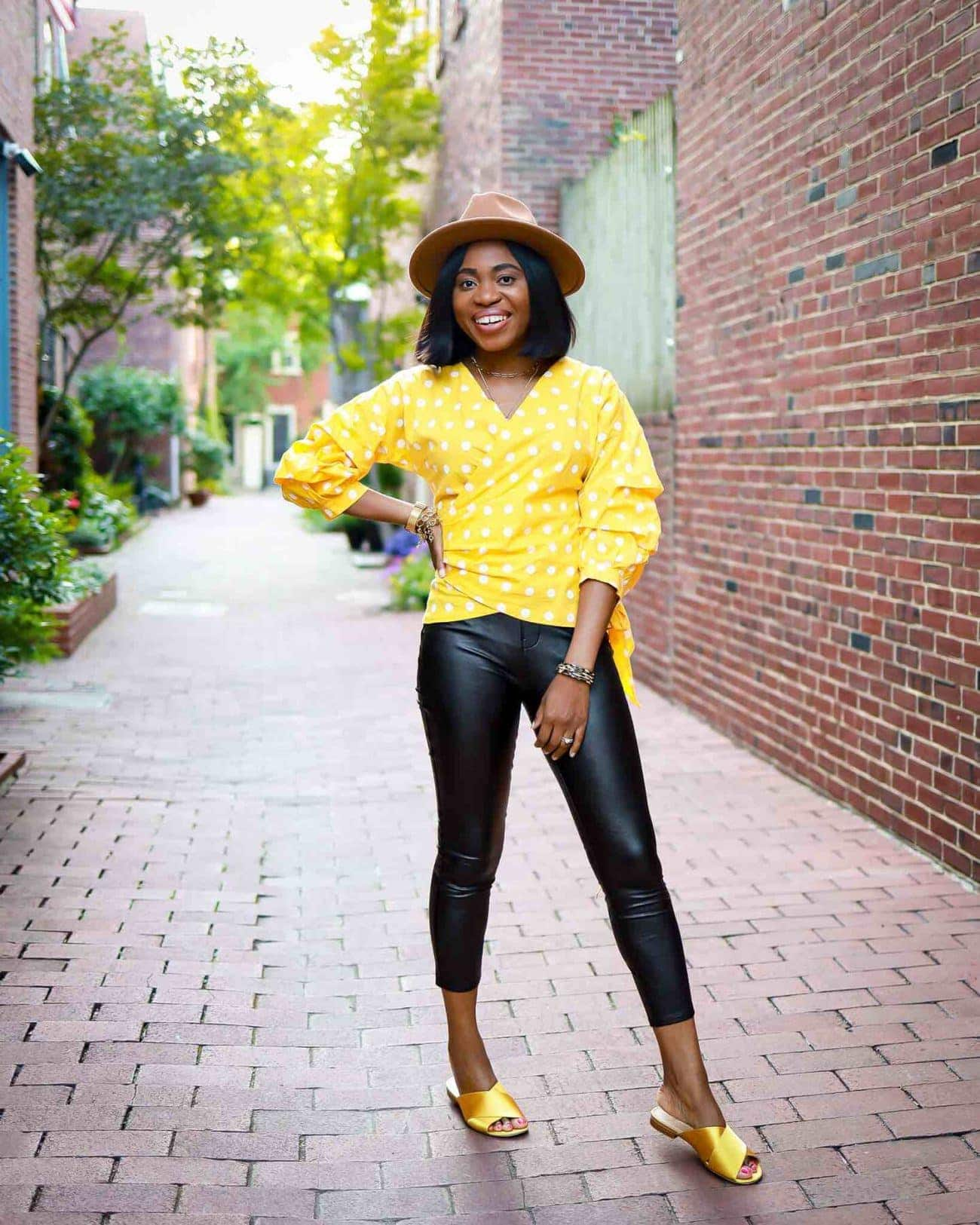 Should you get Spanx leggings? Spanx leggings come in faux leather, velvet, camo and more. If you can only get one leggings, here's what I recommend.