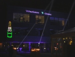 lasershow  op gebouw