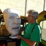despedida de la escultura en el concurso internacional de Valdepelas