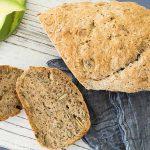 bread, artisan, vegan, egg free