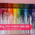Create Your Own Crayon Wall Art Masterpiece