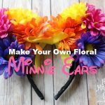 Make Your Own Floral Minnie Ears