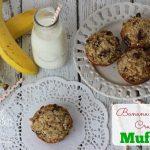 Banana Oatmeal Crunch Muffins