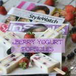 """Celebrating """"Me Time"""" With Berry Yogurt Popsicles"""