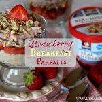 Strawberry Breakfast Parfaits
