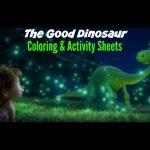 The Good Dinosaur Coloring & Activity Sheets