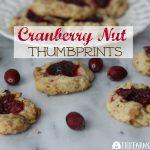Cranberry Nut Thumbprints