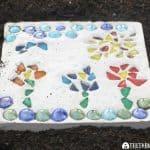 Create Your Own Mosaic Garden Stone