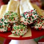 Dipped Sugar Cookie Sticks