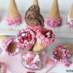 Fun Treats: Dipped Ice Cream Cones