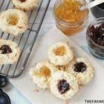 Coconut Thumbprint Cookies