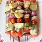 Grilled Italian Herb Chicken Skewers