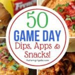 50 Best Game Day Dips, Apps & Snacks
