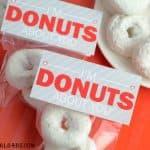 Donut Valentine Treat Bags