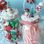 Christmas Mason Jar Gifts + Printable
