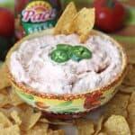 2-Ingredient Salsa Dip for Game Day
