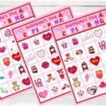 Valentine's Day Cupid Bingo