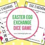 Easter Egg Exchange Dice Game