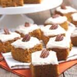 Pumpkin Bars Recipe