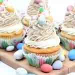 Easter Egg Malt Cupcakes