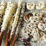 Mummy Pretzel Treats for Halloween