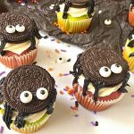 Oreo Spider Cupcakes for Halloween