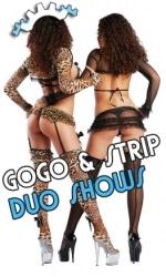Gogo Duo Show - Strip Duo Shows buchen