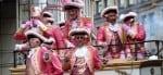 Bunte Kostüme bei Cologne Pride