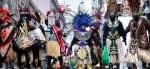Disfraces en el carnaval de Nueva Orleans