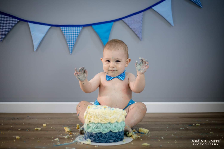 First Birthday Cake Smash 4