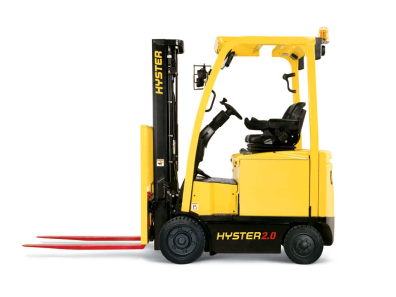 1.600-2.000 kg Vierrad-Elektrostapler Hyster E1.6-2.0XN