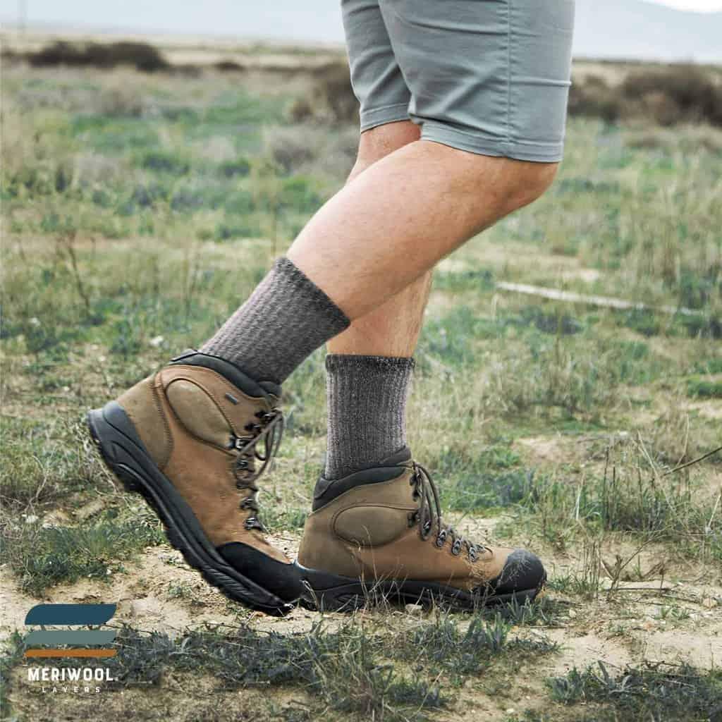 Meriwool merino hiking socks - photo 3