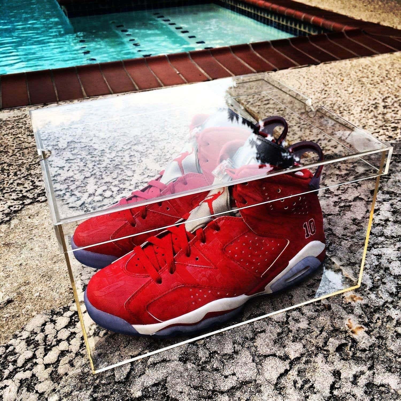Acrylic Shoes Box