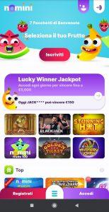 Nomini Casino mobile