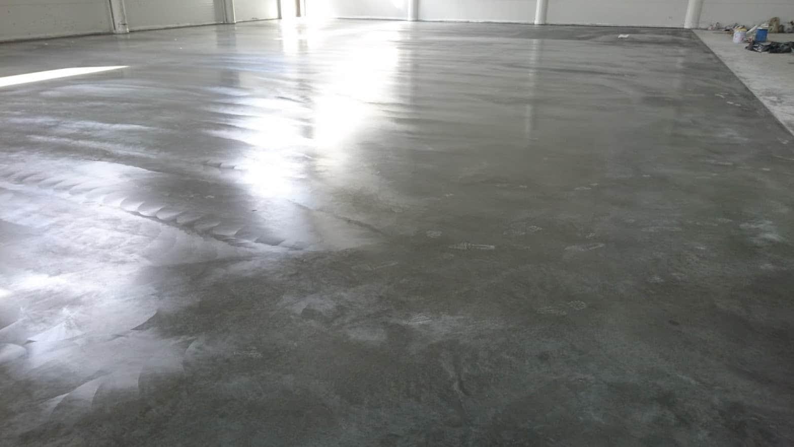Основные рекомендации по уходу за бетонными полами