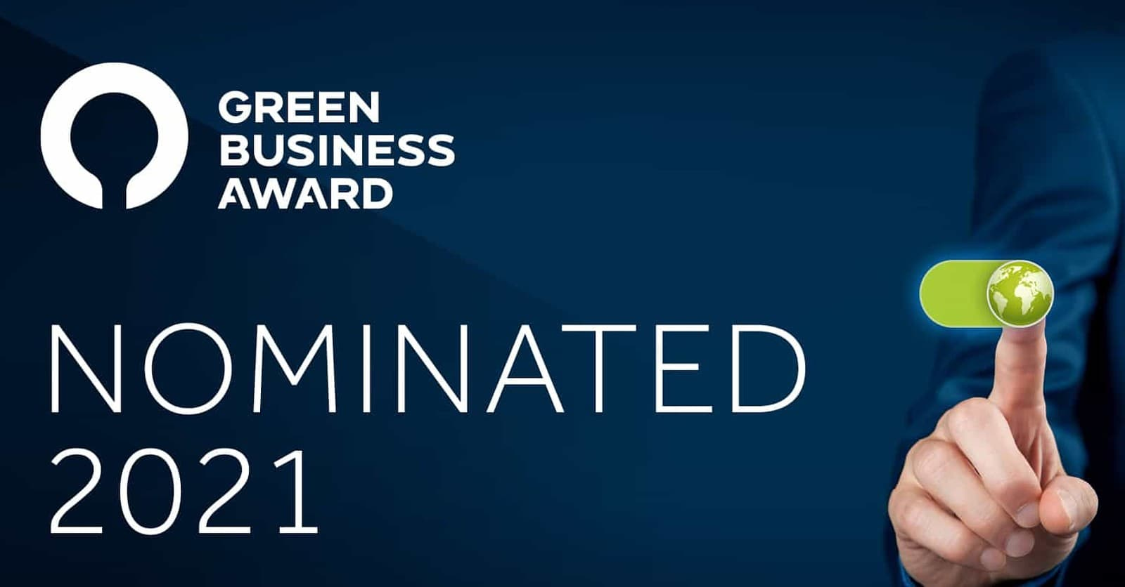 Nominated for the Green Business Award 2021