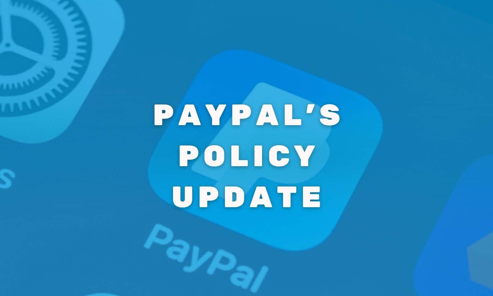 paypal policy update cover image