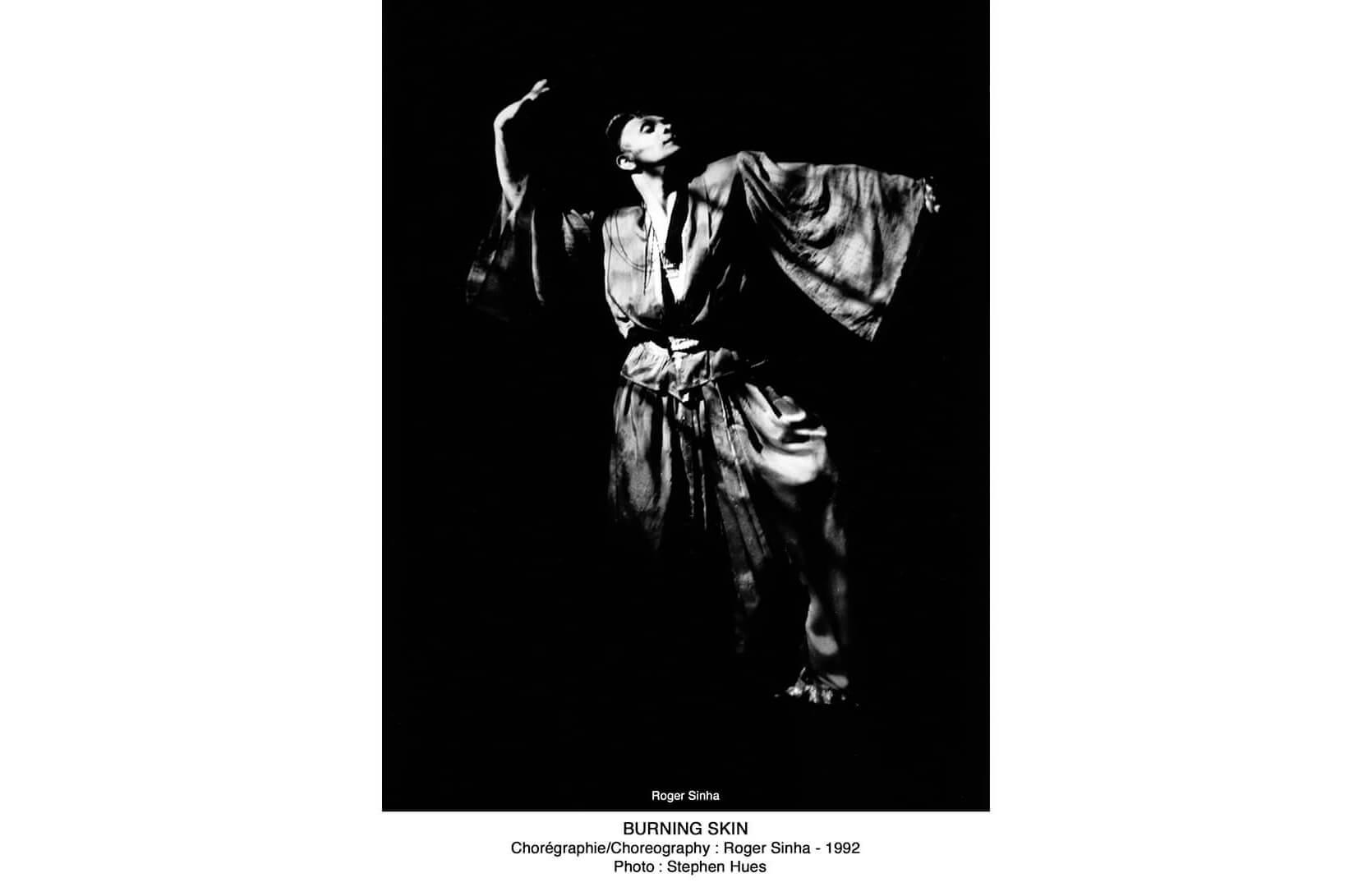 Sinha Danse 1992, Burning Skin, Roger Sinha. Image credit: Stephen Hues