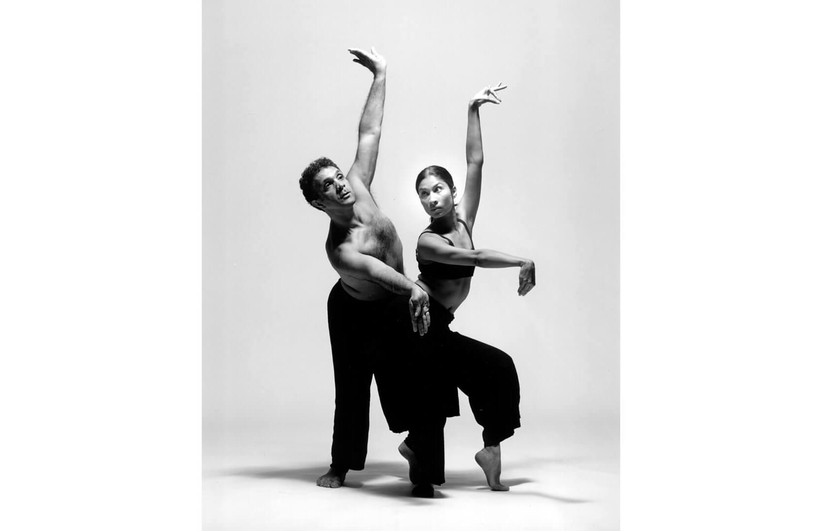 Sinha Danse 1999, Loha, Roger Sinha, Natasha Bakht. Image credit: M. Slobodian