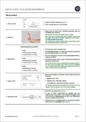 Quick Guide on pollen measurement