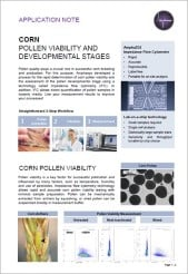 Corn Pollen Viability and Developmental Stages