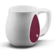 Ceramic purple coffee mugs perfect as a novelty mug gift